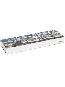 Fornasetti printed wooden box - White