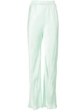 Michael Lo Sordo high waisted trousers - Green