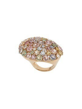 Gavello 18kt rose gold rainbow sapphire ring - Metallic