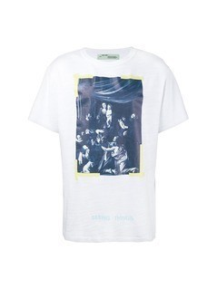 Off-White Caravaggio print t-shirt