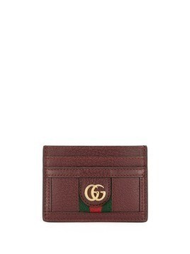 Gucci Ophidia card holder - Red