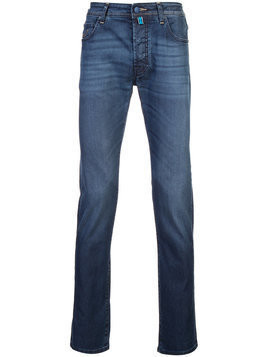 Jacob Cohen - long slim-fit jeans - Herren - Cotton/Polyester/Spandex/Elastane - 34 - Blue