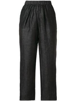 Masscob tapered trousers - Black