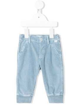 Il Gufo elasticated cuff jeans - Blue