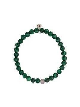 Lord And Lord Designs Jay Z beaded bracelet - Green