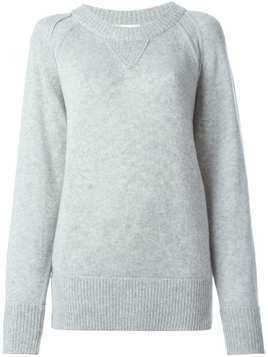 Chloé crew neck sweater - Grey