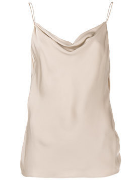 Theory draped neck top - Nude & Neutrals
