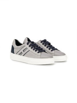 Hogan Kids lace-up sneakers - Grey