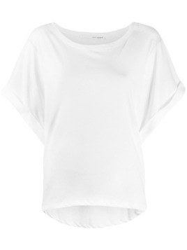 Isabel Benenato hi-low hem T-shirt - White