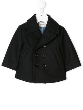 Gucci Kids double breasted jacket - Blue