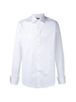 Canali classic long sleeve shirt - White