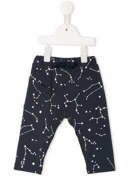 Yellowsub galaxy print leggings - Blue