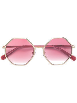 Chloé Kids octagonal sunglasses - Pink & Purple