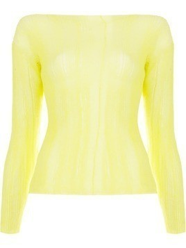 Aalto dropped shoulder top - Yellow