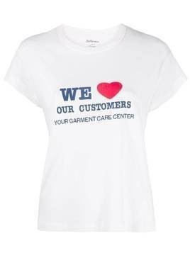 Bellerose We Love Our Customers T-shirt - White