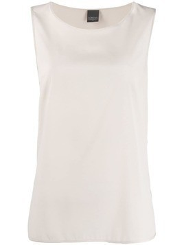 Lorena Antoniazzi loose fit tank top - Neutrals