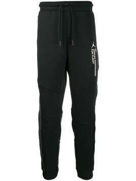 Jordan side logo track pants - Black