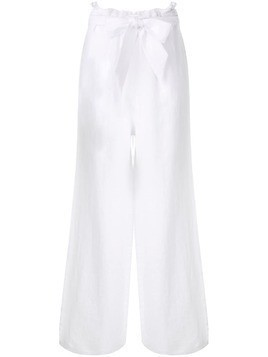Asceno wide leg trousers - White