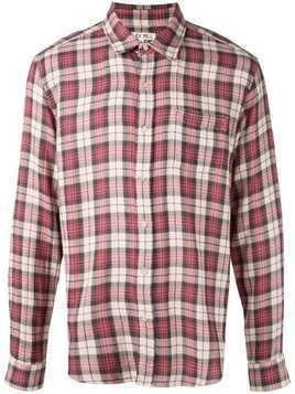 Alex Mill Spring Plaid Double Gauze Shirt - Red