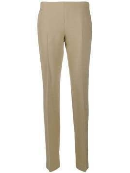 The Row straight-leg trousers - NEUTRALS