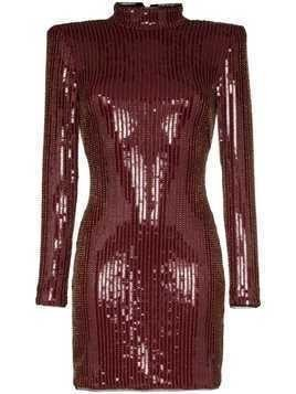 Haney Giorgia sequin-embellished mini dress - GOLD