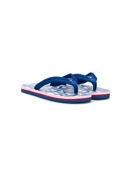 Tommy Hilfiger Junior slip-on flip flops - Blue