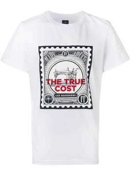 Les Bohemiens 'the true cost' T-shirt - White