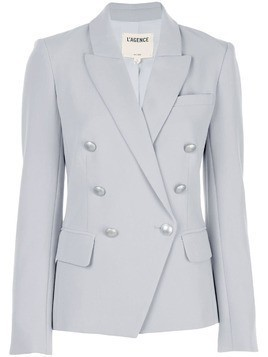 L'agence double-breasted blazer - Green