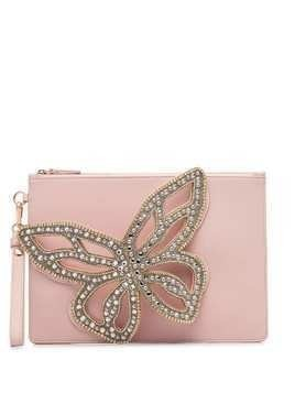 Sophia Webster Flossy Butterfly clutch bag - Pink