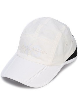 Y-3 foldable cap - White