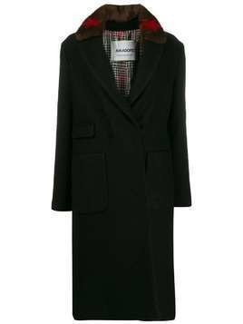 Ava Adore St Petersburg fitted coat - Black