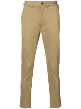321 skinny trousers - Neutrals