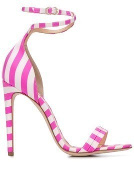Chloe Gosselin Narcissus striped sandals - Pink