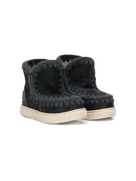 Mou Kids slip-on booties - Black
