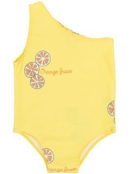 Bandy Button Orange Juice swimsuit - Yellow
