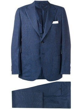 Kiton two-piece formal suit - Blue