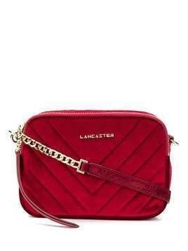 Lancaster ribbed crossbody bag - Red