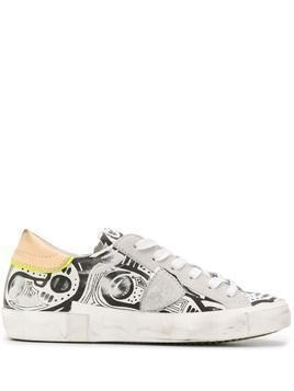 Philippe Model Paris Prsx graphic-print trainers - White