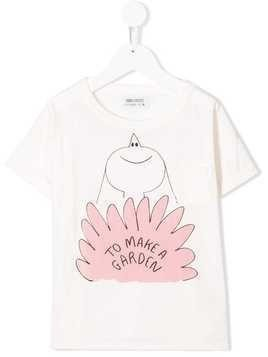 Bobo Choses To Make a Garden print T-shirt - White