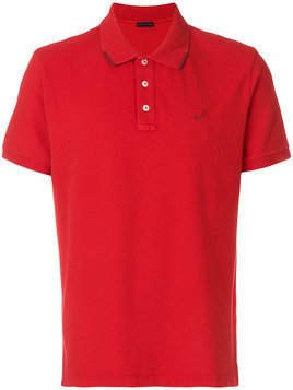 Jacob Cohen - button polo shirt - Herren - Cotton/Spandex/Elastane - XL - Red