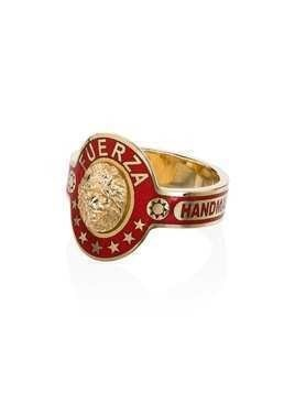 Foundrae Strength ring - Gold/Red