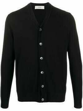 Pringle of Scotland button-down fitted cardigan - Black