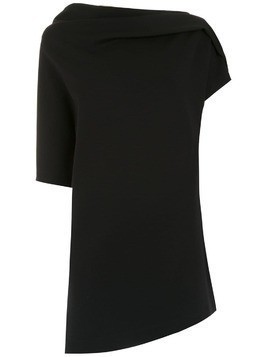 Gloria Coelho asymmetric top - Black