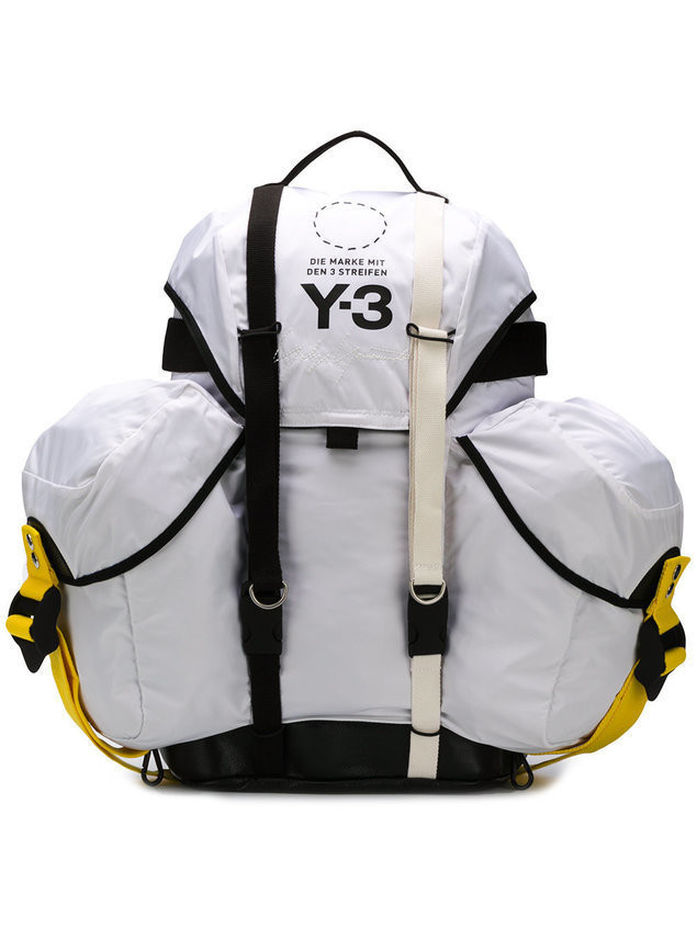 Y-3 utility backpack - White
