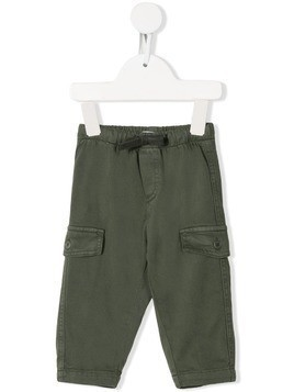 Il Gufo patch pocket chinos - Green