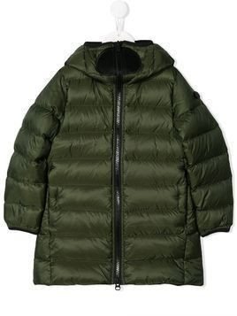AI Riders on the Storm padded zipped jacket - Green