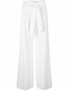 Milly flared trousers - White