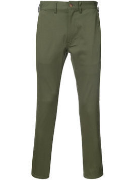 321 cropped chinos - Green