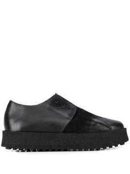 Marsèll distressed slip-on shoes - Black