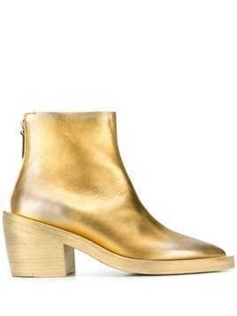 Marsèll gilded ankle boots - Gold